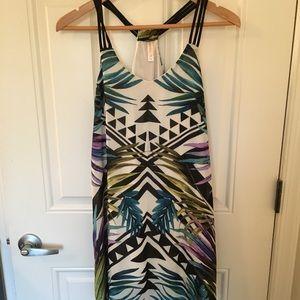 Tribal print summer dress - S